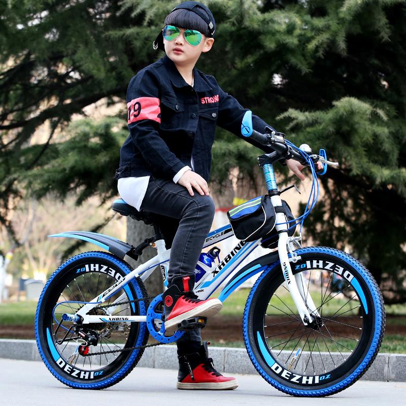 Новый ребенок велосипед 20/22/24 дюймовый 8-10-12 лет мужской и женщины ребенок дети ученик переключение передач горный велосипед