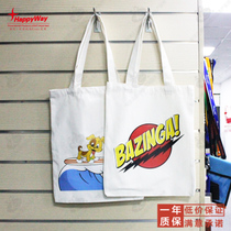 Cotton bag Canvas bag custom printing logo picture bag printing shopping bag Custom exhibition publicity Advertising Gifts