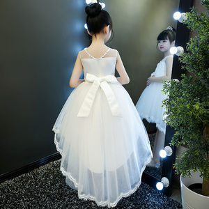 领10元券购买女童夏装2019新款蓬蓬纱童装公主裙
