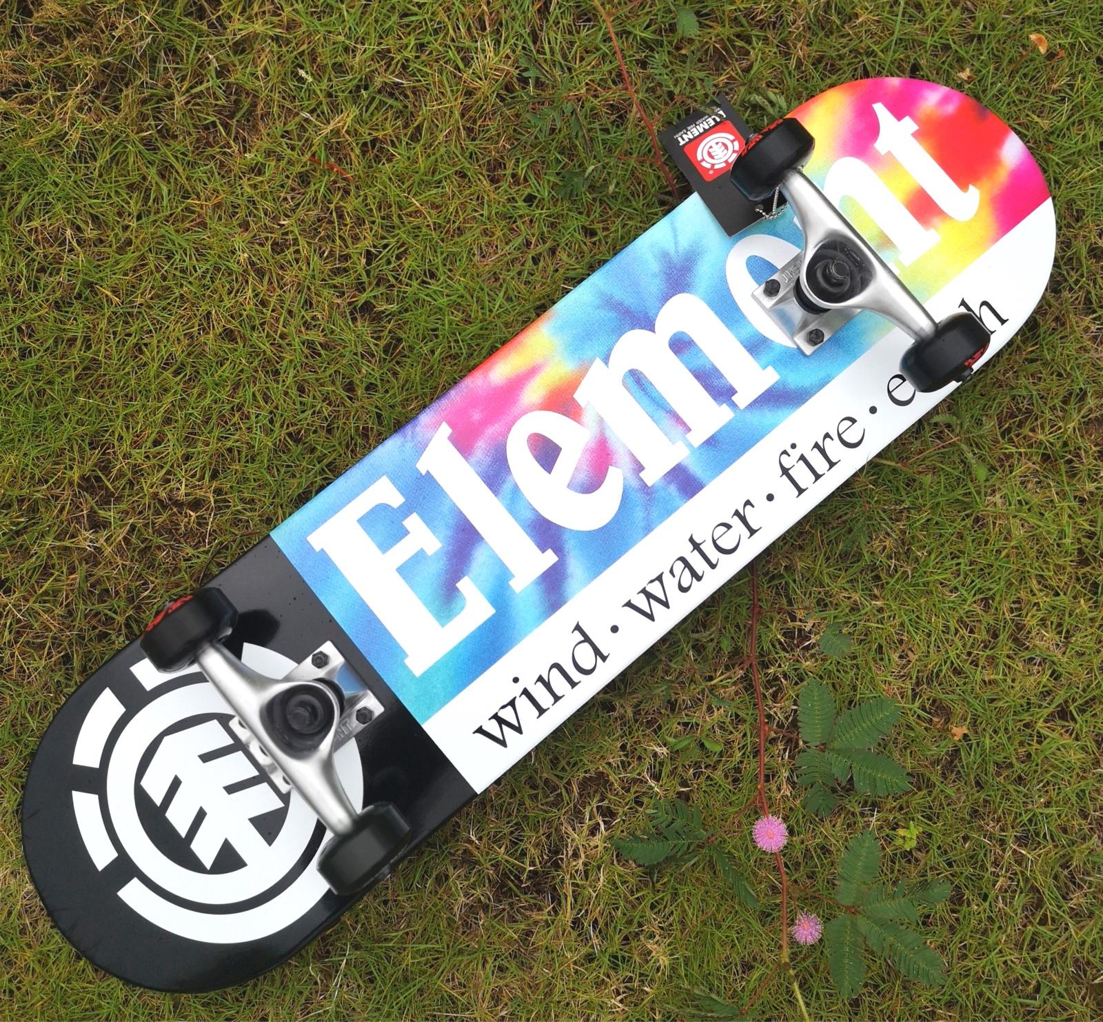 ELEMENT美国进口双翘滑板经典款初学组装板整板刷街板代步