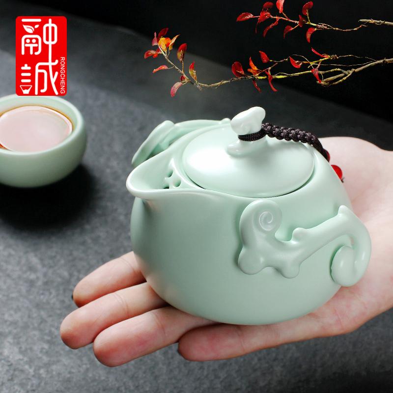 家用功夫茶具单个泡茶壶陶瓷茶壶12月01日最新优惠