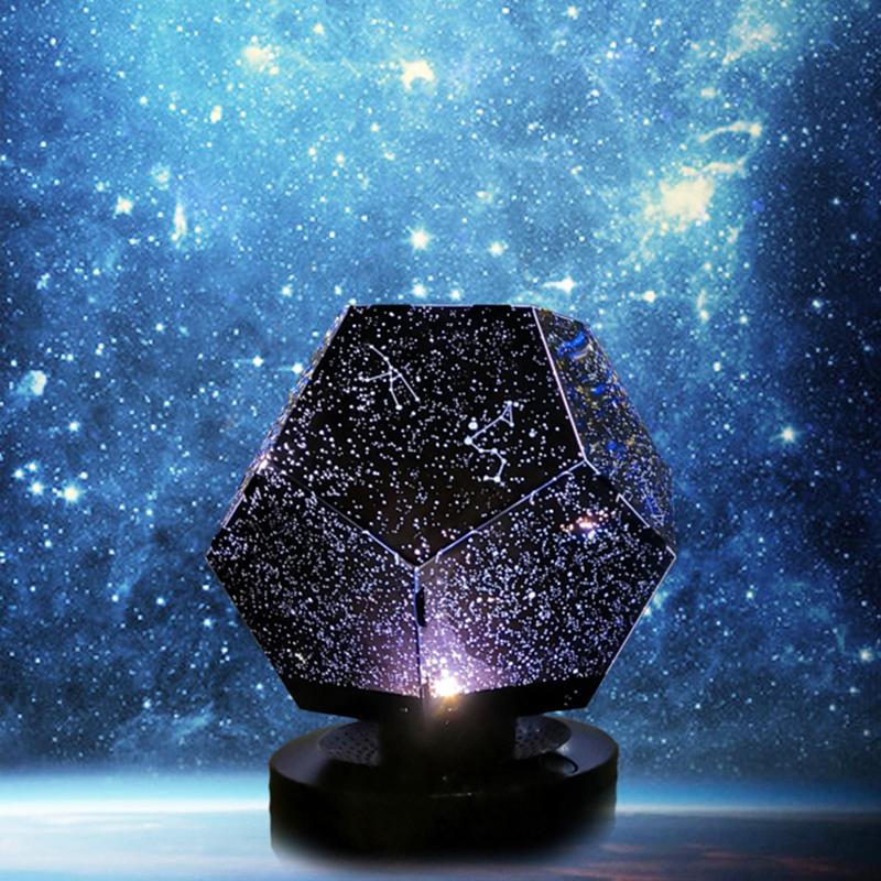 星空灯投影满天星星房间卧室求婚布置装饰灯创意网红生日礼物彩灯