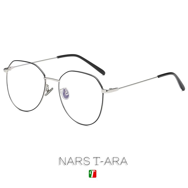 2018新款网红ins眼镜架潮近视眼镜男女多边形平光镜框可配有度数