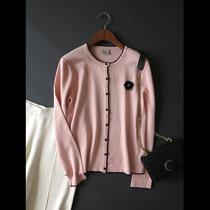 特价2021春新加大码女装小香风知性气质显瘦减龄温婉针织开衫E938
