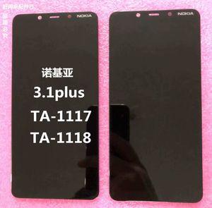 适用诺基亚3.1屏幕3.1plus ta-1117屏幕总