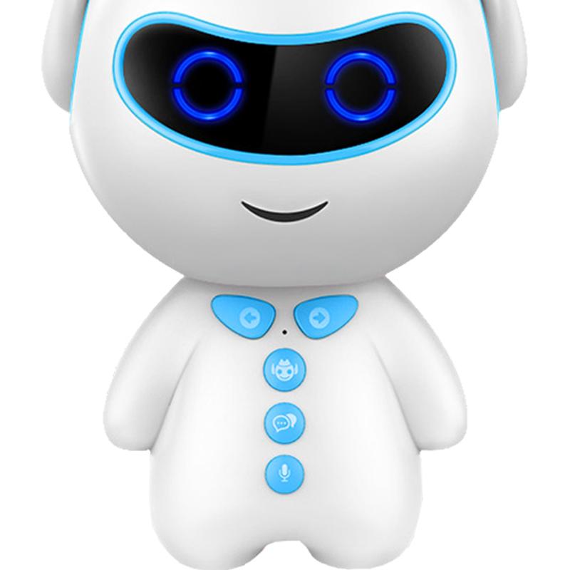 米熊WIFI智能�C器人早教故事�C�Z音�υ��和�小胖��玩具益智�W��C