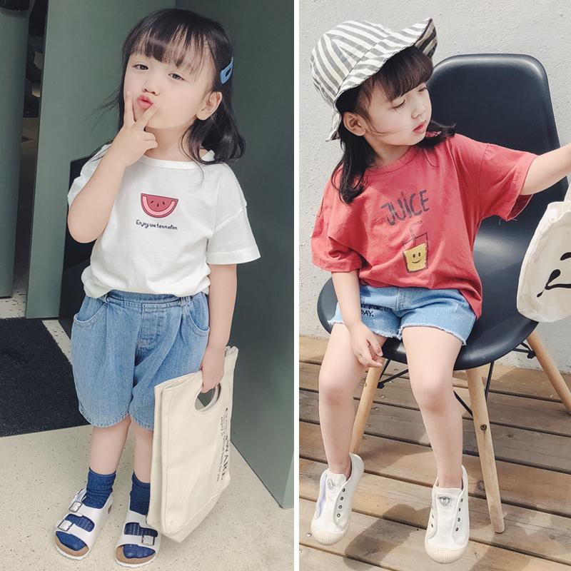 女童短袖夏装2021新款洋气韩版t恤好不好