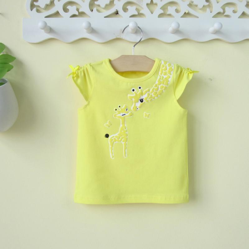 嬰兒女寶寶打底純棉恤衫