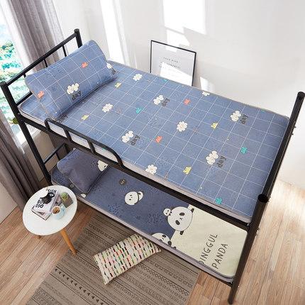 夏季凉席冰丝席单人床学生宿舍0.9m折叠席子1米寝室空调席软席1.2