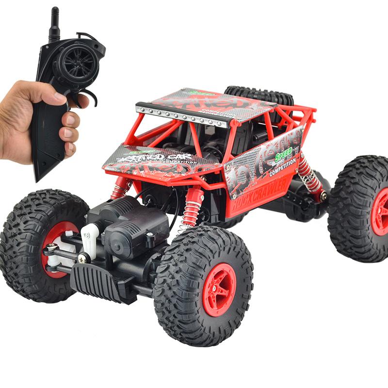四驅遙控車越野車攀爬大腳車男孩充電玩具車兒童遙控汽車防撞賽車