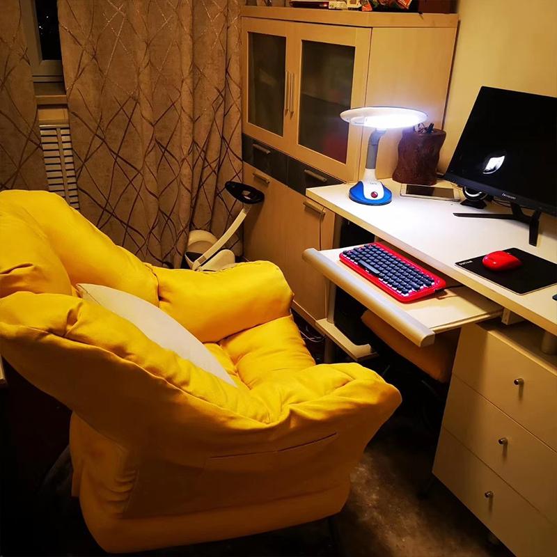 懒人电脑沙发椅家用卧室宿舍游戏椅子舒适靠背椅办公书桌电竞座椅