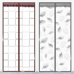 空调门帘冬季保暖防风厨房油烟卧室家用磁铁塑料防寒挡风隔断帘子