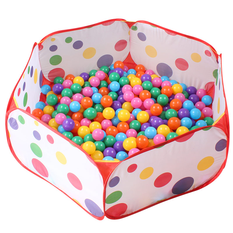 便攜海洋球環保無毒彩色嬰兒塑料球波波球池寶寶兒童玩具海洋球池