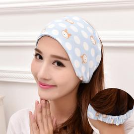 月子帽夏天产妇帽包头巾孕妇帽子春夏季薄产后月子用品全棉春秋款
