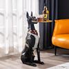 客厅大型迎宾落地创意狗现代轻奢评价如何