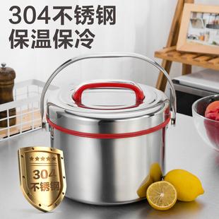 金灿扬不锈钢2层保温饭盒大容量保温桶手提提锅汤桶成人饭桶汤壶品牌