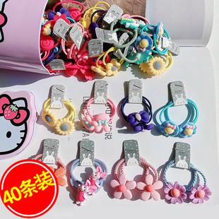 頭繩寶寶頭飾兒童橡皮筋女扎頭髮髮圈女童韓國不傷發公主髮飾發繩