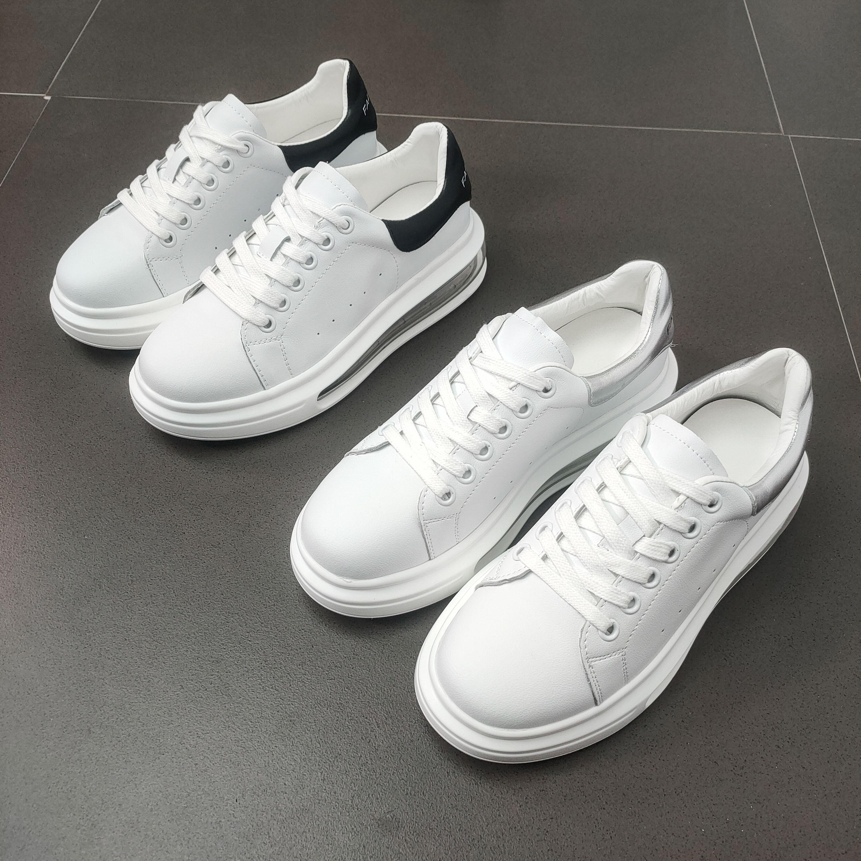 小白鞋女2020春季新款鞋子百搭潮鞋女鞋板鞋网红真皮D8015