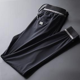 夏季超薄款九分裤轻奢透气休闲裤