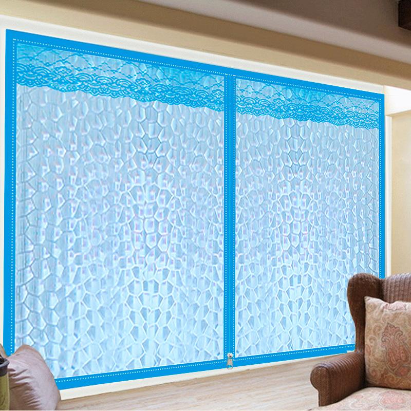 保暖窗帘密封窗户防风冬季卧室加厚保暖帘保温膜挡风防尘塑料防寒