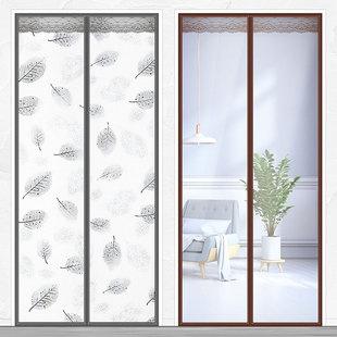 空调门帘冬季保暖防风厨房油烟家用冬天挡风隔断塑料透明自吸磁铁图片