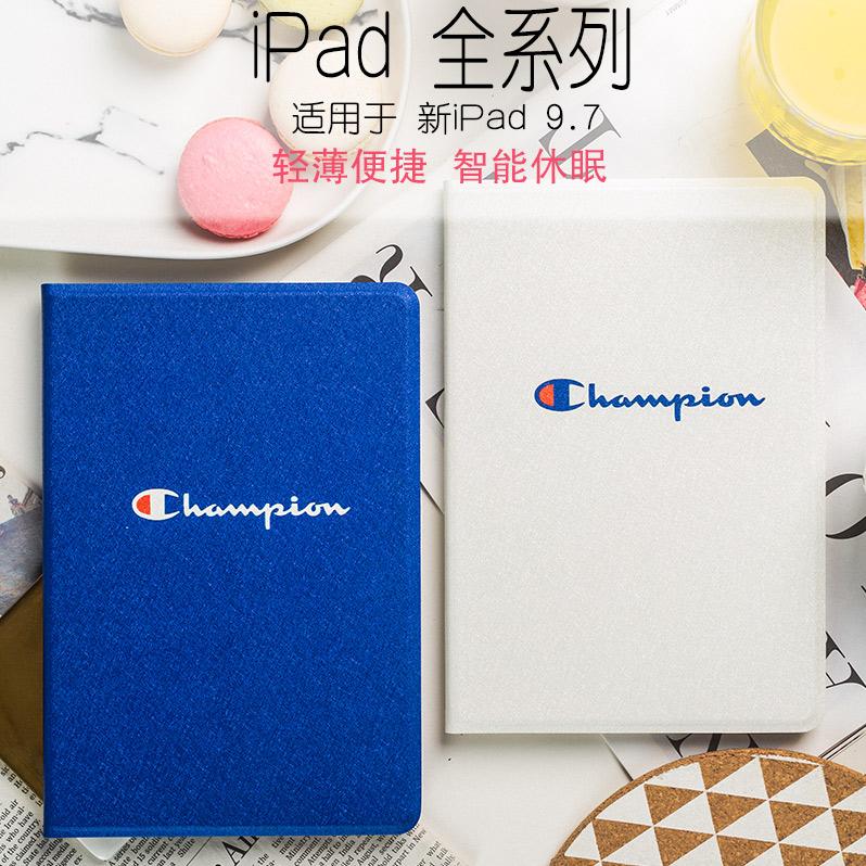 35.00元包邮潮牌 新ipad9.7保护套mini5/4/3休眠ipad5/6皮壳pro10.