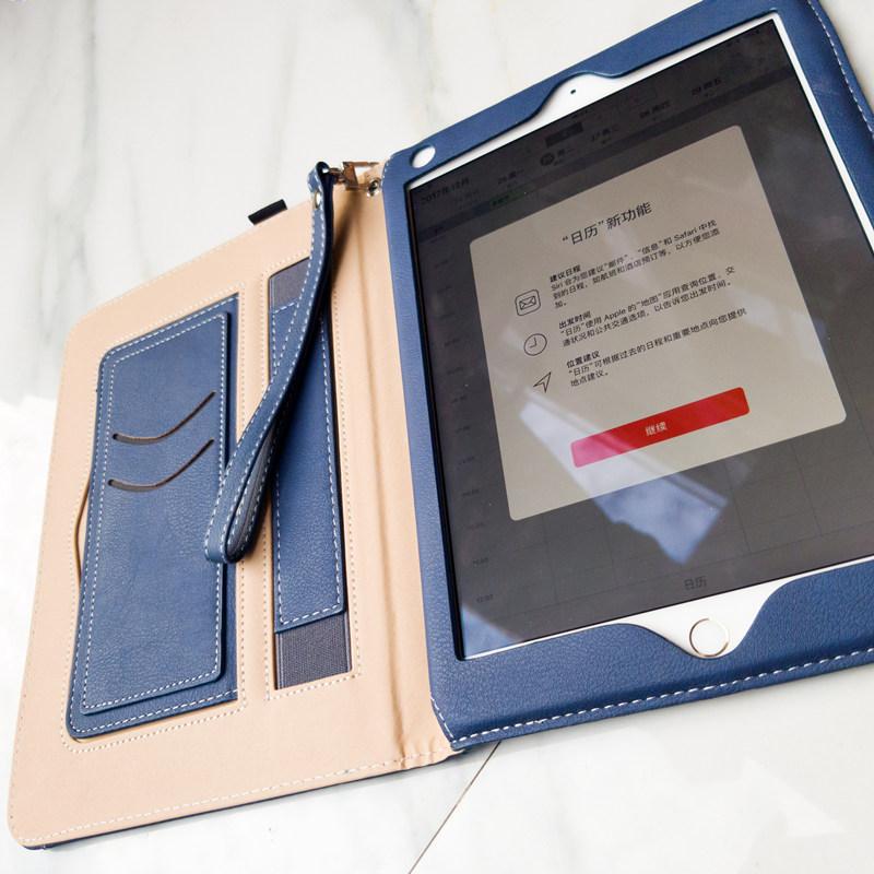 Jeefanco苹果2018新款ipad air2保护套mini4皮套9.7寸pro平板电脑3壳5少女心mini2全包边ipad4网红ipad2ipad6