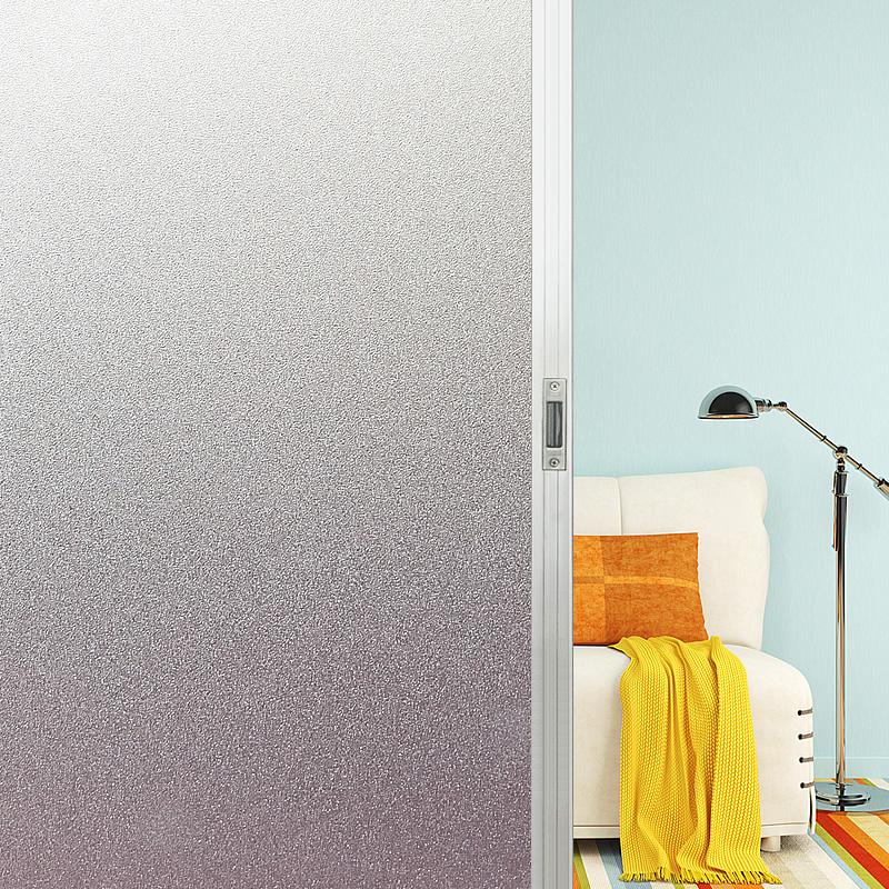 加厚静电纯磨砂窗户玻璃卫生间贴膜
