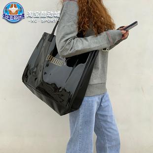 彪马Puma 女子PU简约手提包拎包大容量托特包单肩包075953 077919