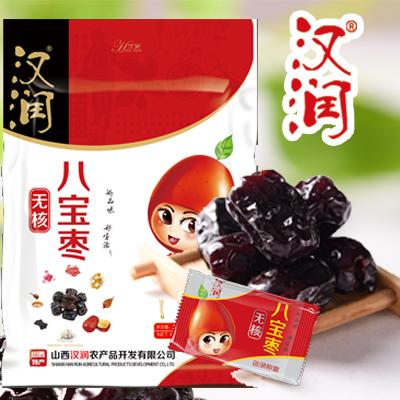 山西土特产大红枣子汉润无核八宝枣380克买4袋送1袋本品全国包邮