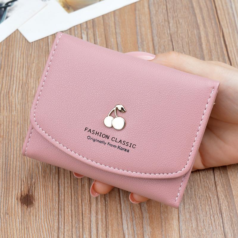 10月25日最新优惠女士短款可爱迷你小三折学生零钱包