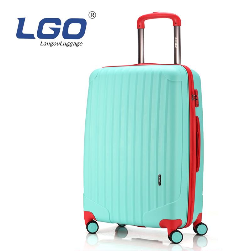 网红拉杆箱抖音轻便女生海关锁旅行箱超大容量出国飞机托运行李箱