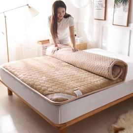 加厚床垫冬季保暖榻榻米床褥垫子海绵1.8m床2米双人1.5米暖绒垫被
