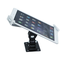 Tablet bracket with lock anti-theft hanging wall aluminum alloy genus ipad display shelf hanging desktop tens of thousands to universal fixed base multifunctional multi-angle rotation adjustable