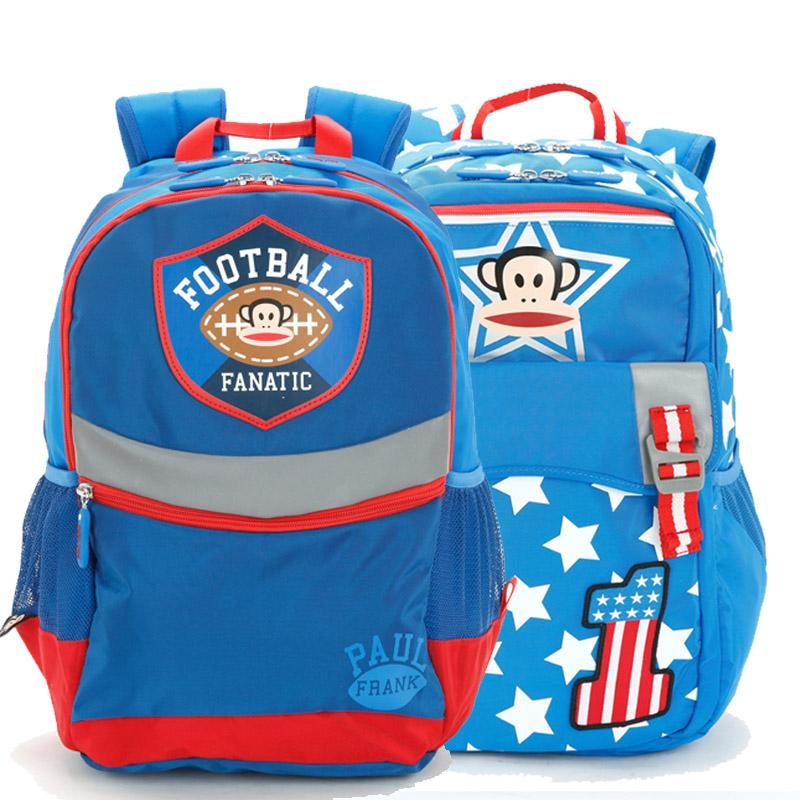 新品包郵大嘴猴小學生1~3~6年級護脊書包女兒童男孩雙肩減負背包