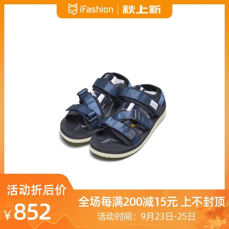 日本 SUICOKE KISEE-V 双层Vibram鞋底 机能户外山系凉鞋 沙滩鞋