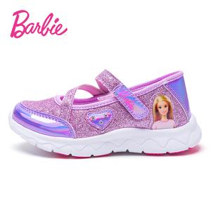 领20元券购买芭比童鞋2019新款时尚方口秋休闲鞋