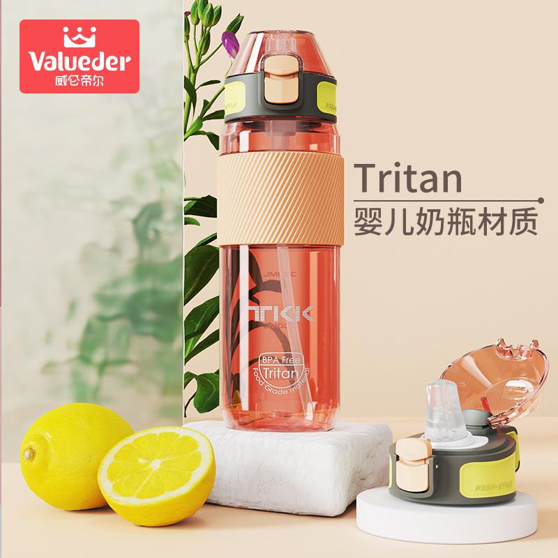 威仑帝尔夏季大容量tritan吸管杯