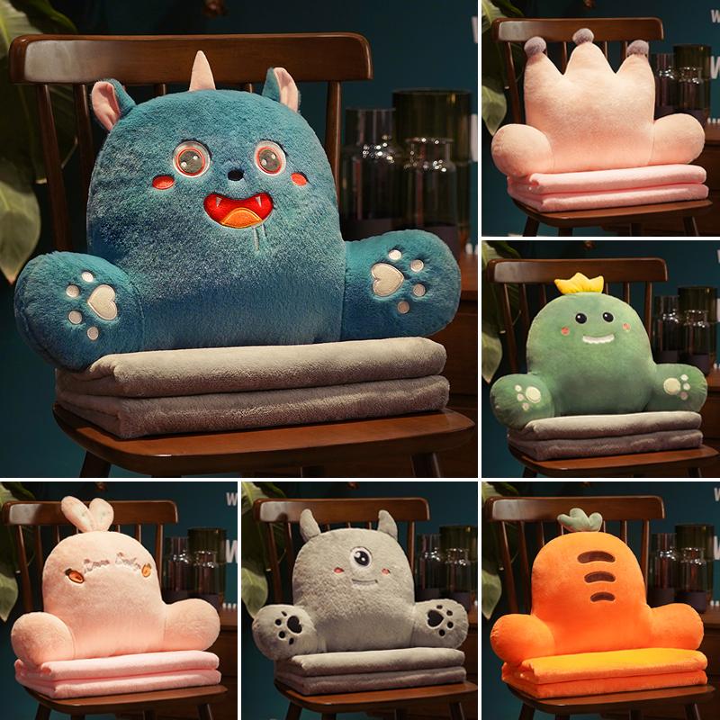 靠背垫腰靠办公室椅子沙发座抱枕好用吗