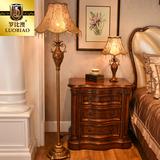 复古艺术书房宜家创意立式 台灯北欧奢华 欧式 落地灯客厅卧室美式