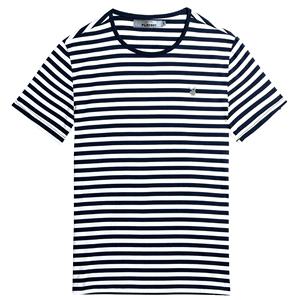 花花公子夏季男士短袖圆领青年t恤