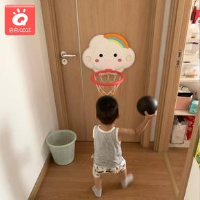 儿童篮球架可升降宝宝家用室内投篮球框婴幼儿家庭挂墙式小孩玩具
