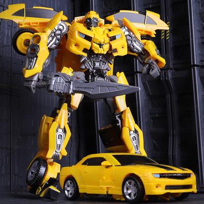 变形玩具汽车机器人金刚大黄蜂合金正版模型8男孩手办6儿童礼物10