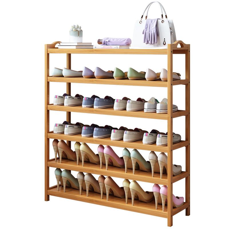 收纳家用门口室内放经济型实木鞋架怎么样
