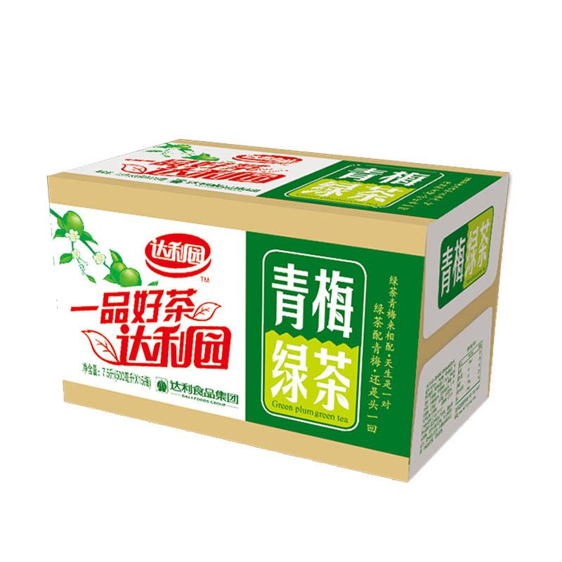 達利園青梅綠茶500mL*15瓶茶飲料果味茶飲料整箱包郵