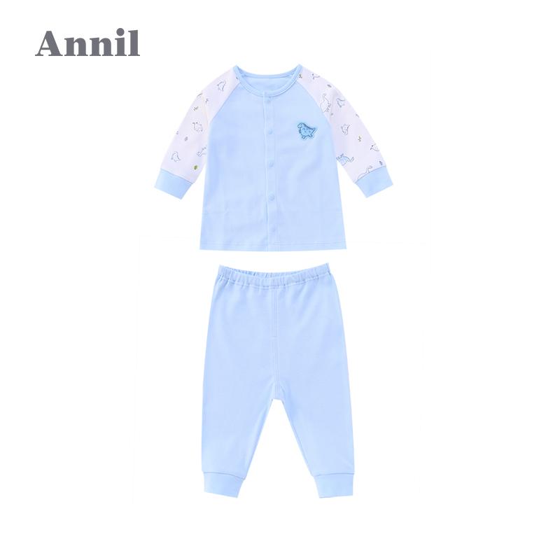 安奈儿童装婴童秋冬新款长袖针织套装婴儿衣服宝宝服饰YM737575