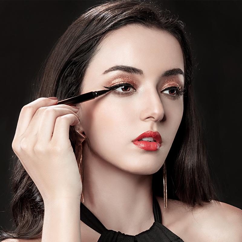 诗芝灵眼线笔女防水防汗不脱色持久正品不晕染初学者网红眼线液胶