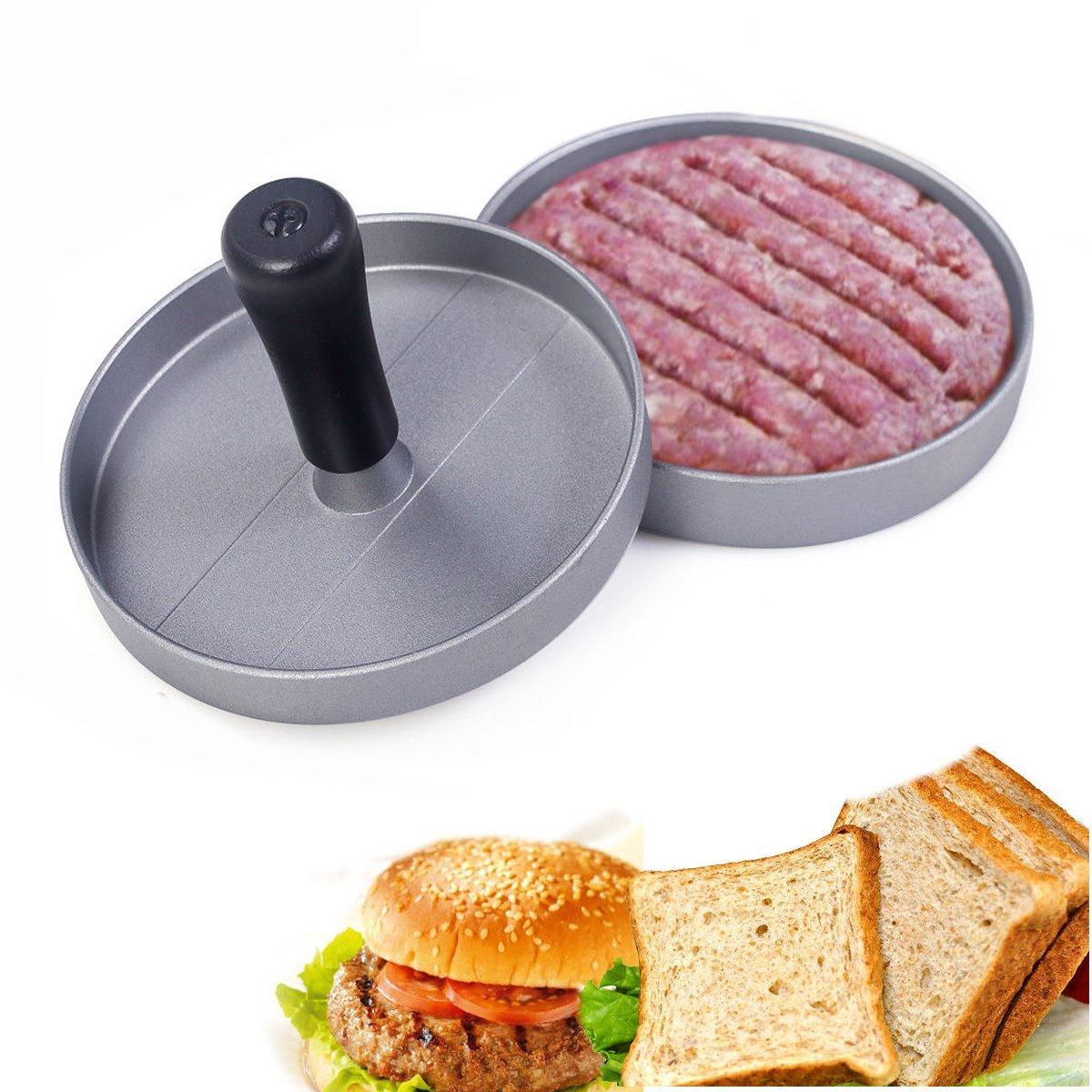 汉堡压DIY模具 肉饼压模具肉饼压三明治煎蛋模具 厨房创意小工具