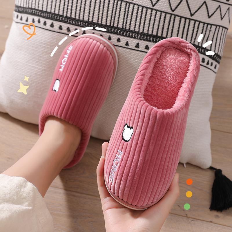 包头冬家居可爱家用秋冬天潮棉拖鞋质量如何