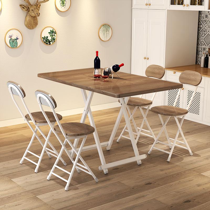 折叠桌餐桌家用简易小户型吃饭桌子满170.00元可用90.1元优惠券